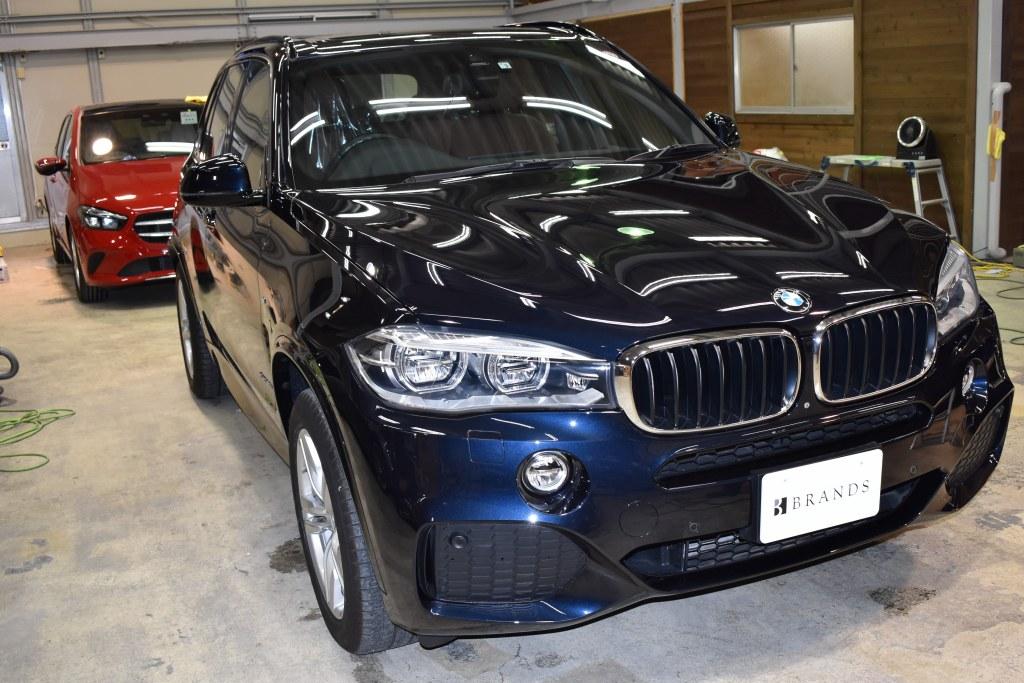 BMW X5フロント