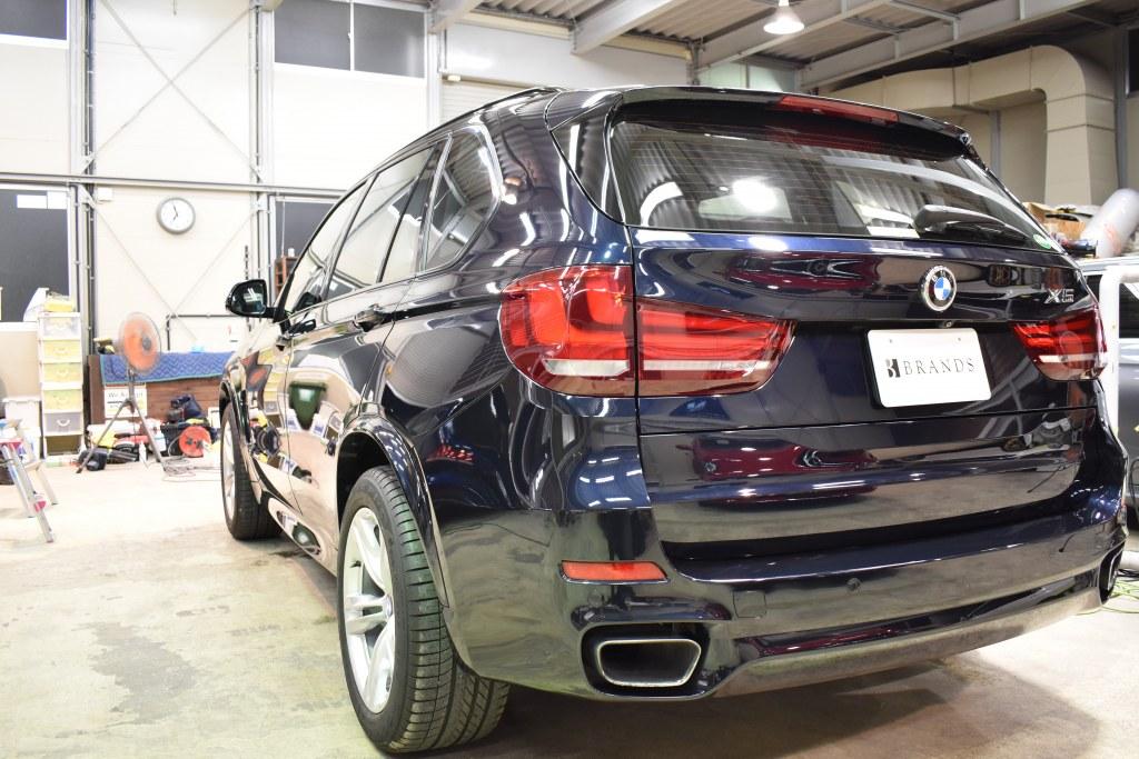 BMW X5 左リヤ