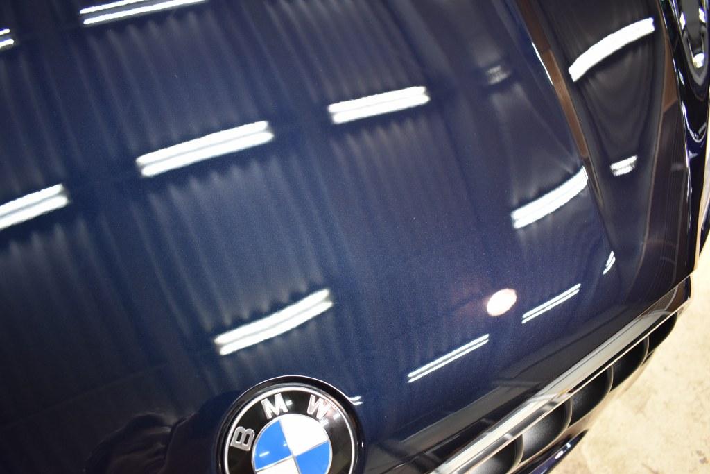 BMW X5ボンネット