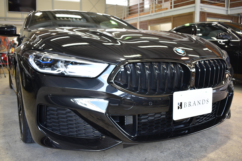 BMW840dフロント