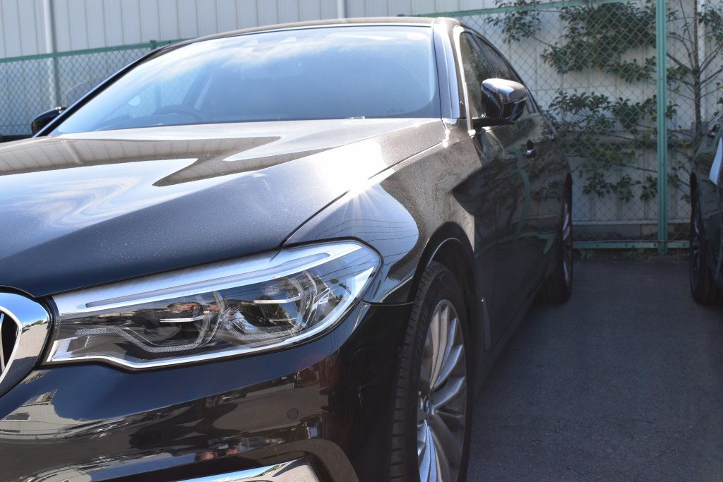 BMW523d入庫前コンディション
