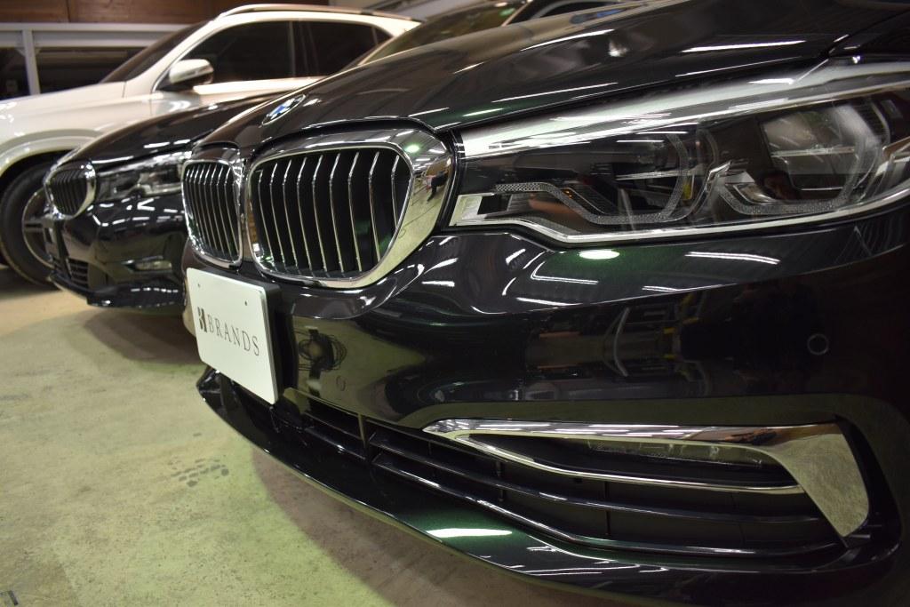 BMW523dコーティング完了