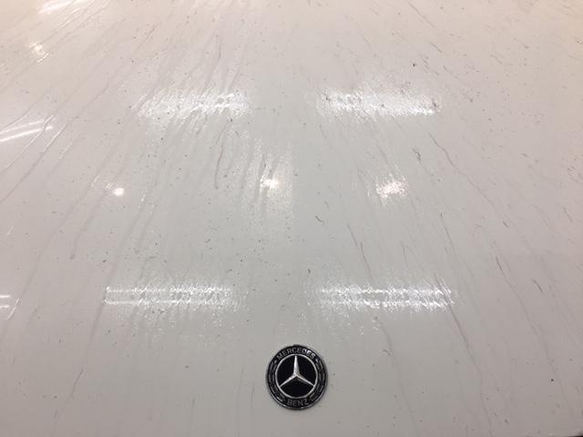 メルセデスベンツC200鉄粉